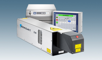 Videojet 3340 30W CO2 Laser Marking System for Printing on PET Bottles